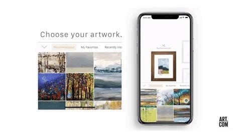 Apple AR: Art.com & Houzz Apps Take Imaginative Approaches to Hang AR Art Until ARKit Update Arrives