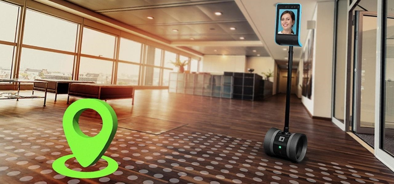 Augmented Reality Simplifies Driving the New Double 3 Telepresence Robot