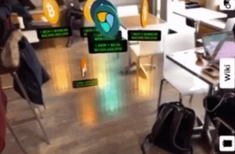 Now You Can Track the Bitcoin Mania Bubble in Augmented Reality