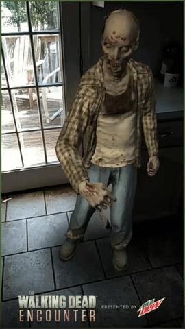The Walking Dead Doubles Down on AR with Another Mobile App