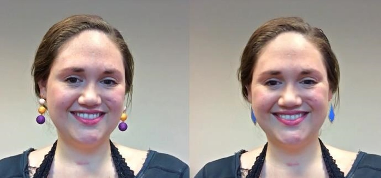 FaceCake Uses Snapchat-Like Camera Effects to Let You Try on Earrings Instead of Masks & Rainbows