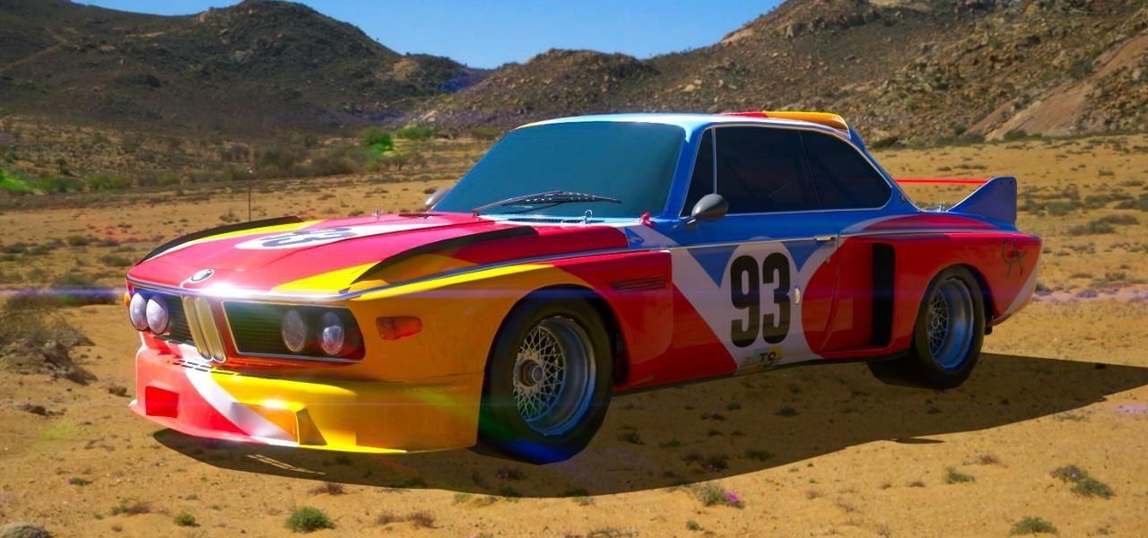 BMW Releases Art Car Series of Famed Artists, Including Jeff Koons and Andy Warhol, in Augmented Reality