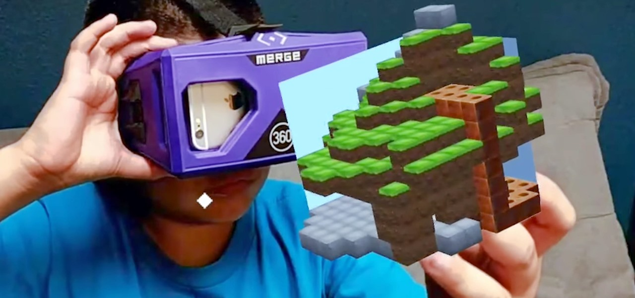 Merge VR's Holo Cube—An Augmented Reality Toy That Transforms into Interactive Holograms