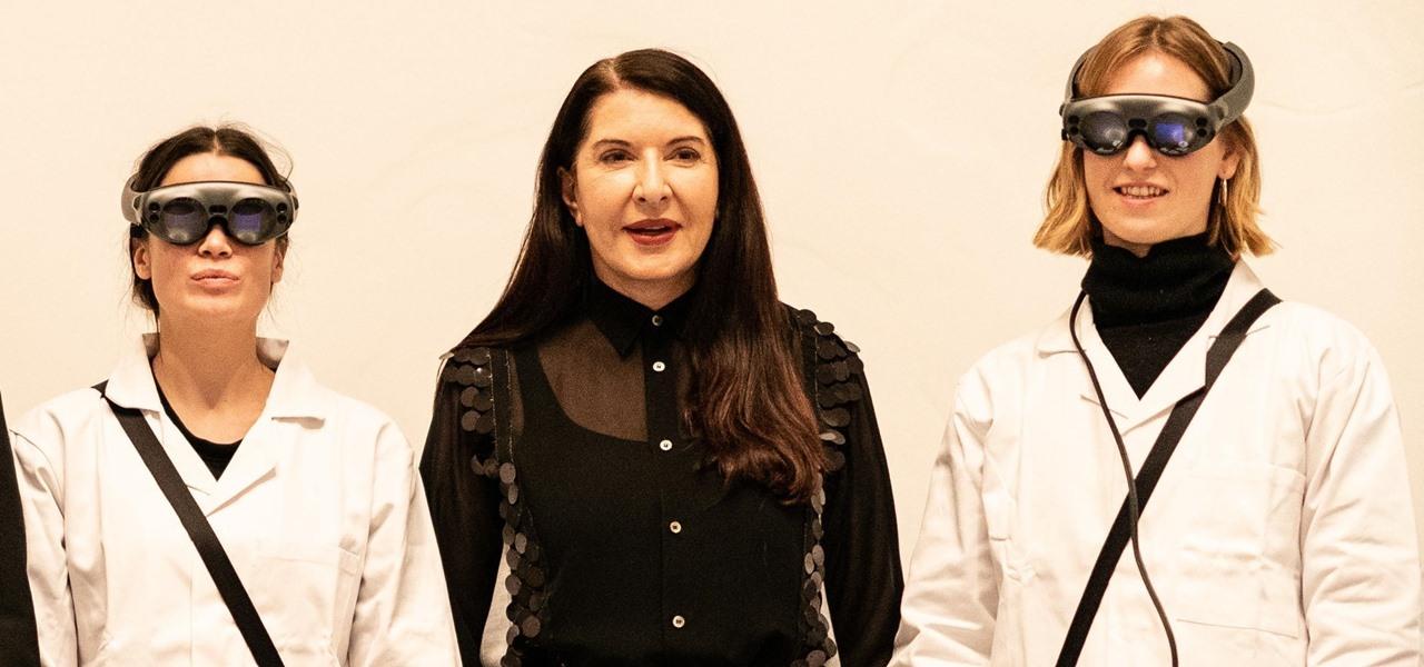 News: Magic Leap Volumetric Art Piece by Marina Abramovic Heads for Christie's Auction Block
