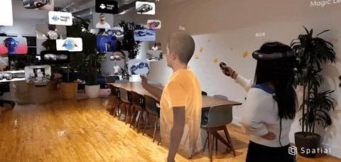 AR Telepresence App Spatial Debuts on Magic Leap via Enterprise Suite