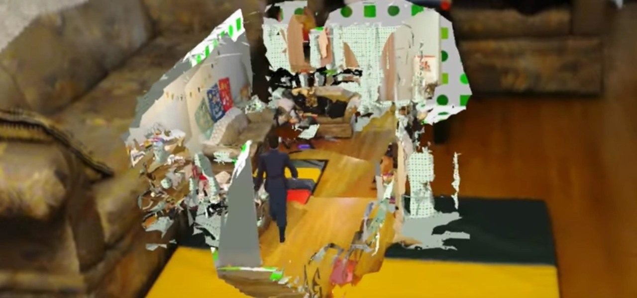 HoloLens App Shrinks a Room Down to a Miniature 3D Map
