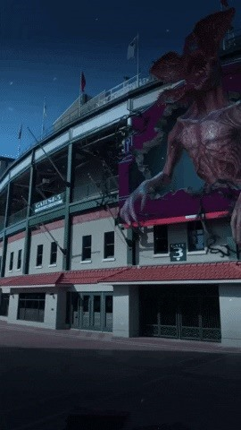 "Snapchat transforms Wrigley Field Into Upside Down for ""Stranger Things"" Promotion"