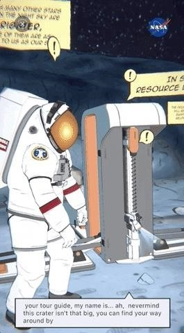 NASA Launches First Woman to Moon via AR App, & Delivers Interactive Visit to New Space Telescope