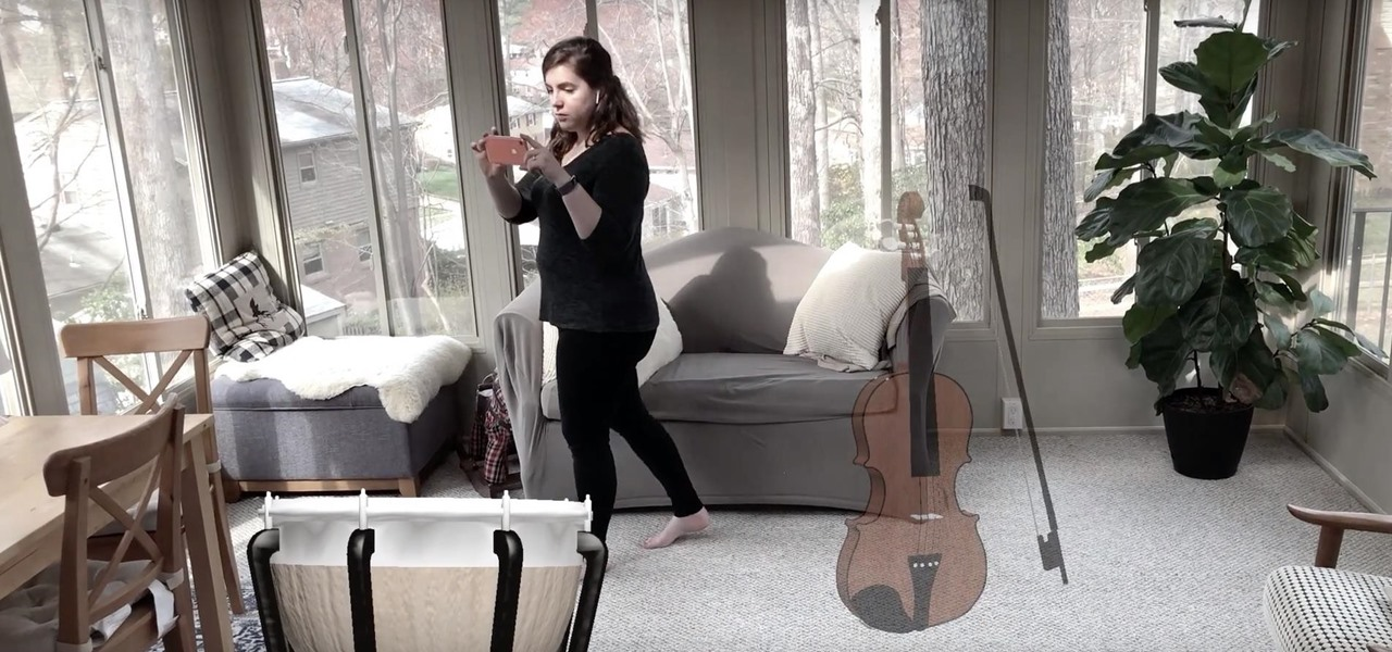 New iPhone App Fills Your Living Room with a Virtual Orchestra