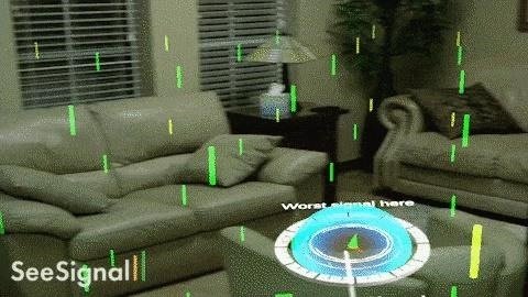 Magic Leap App SeeSignal Uses AR to Help You Find & Touch the Strongest Cellular, Wi-Fi, & Bluetooth Signals