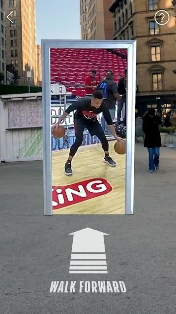 NBA AR App Launches on Android & Adds Portals to Playoffs