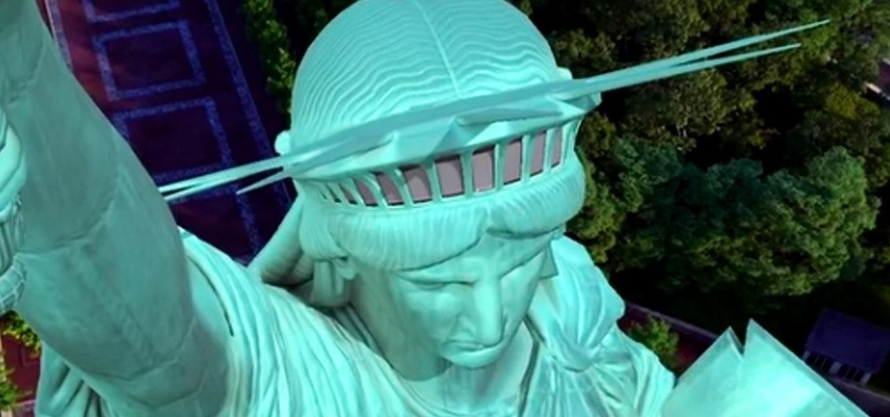 Now You Can Visit the Statue of Liberty in NYC from Anywhere in Augmented Reality via iOS App