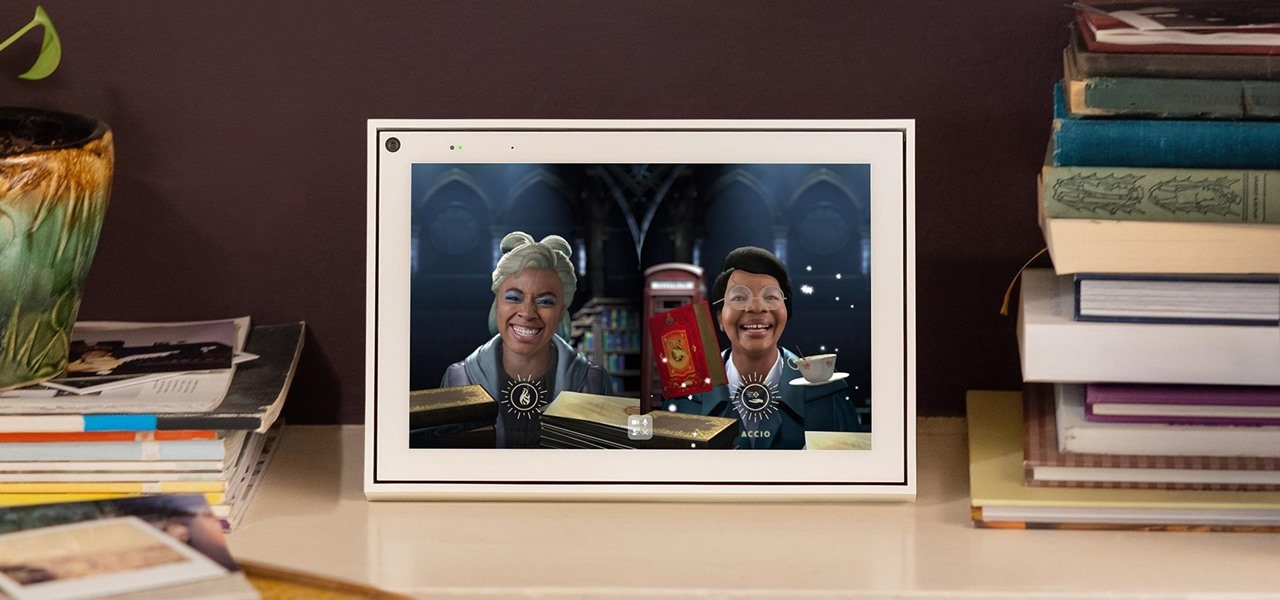 Facebook Puts a Spell on Portal Devices & Mobile Apps with Harry Potter AR Experience