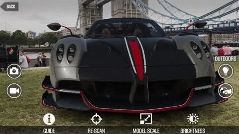Zynga Debuts Pagini Hypercar in Augmented Reality via CSR 2 Mobile Game
