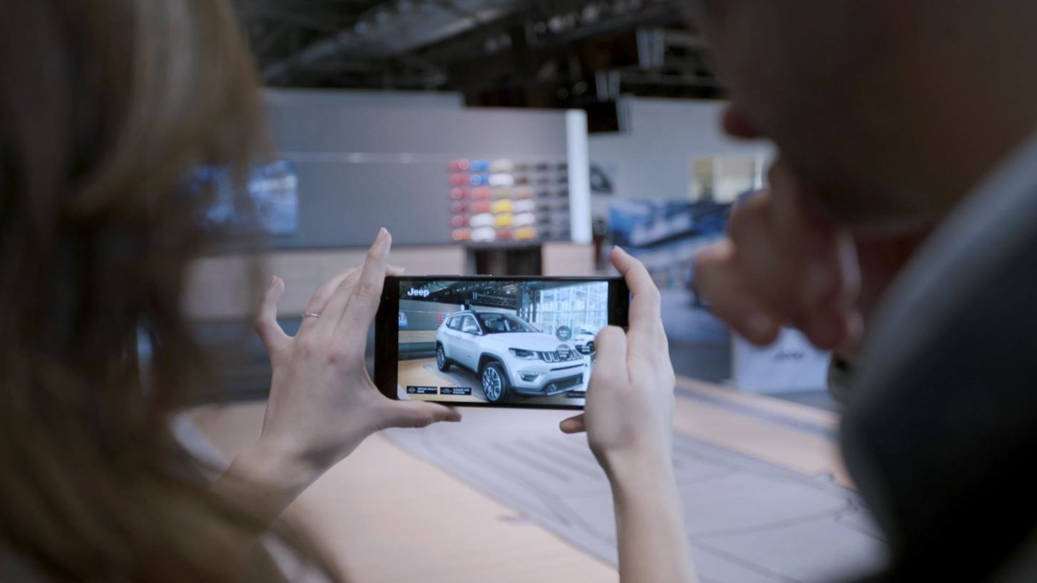 Jeep's New AR Experience Lets You Interact with a Car That Isn't Actually There