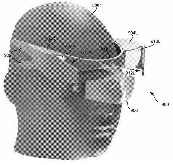 Google Glass Engineer's patent application indicates a possible Google AR headset