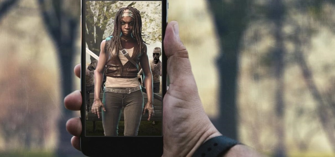 Hunt Zombies Instead of Pokémon with AR Game Based on the Walking Dead