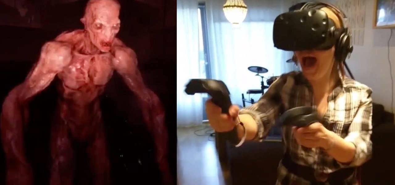 Watch This Woman Freak the Hell Out in Horror VR