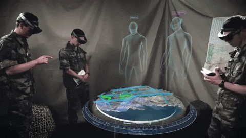 Airbus Previews Military Sandbox App for HoloLens