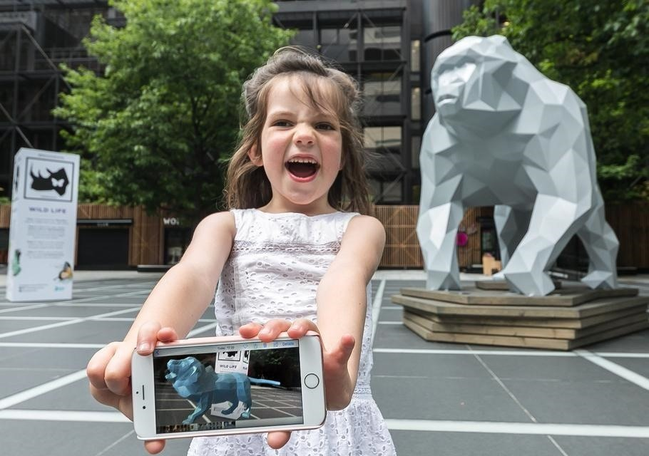 New AR Exhibit in London Wants to Bring Awareness to Wildlife Preservation