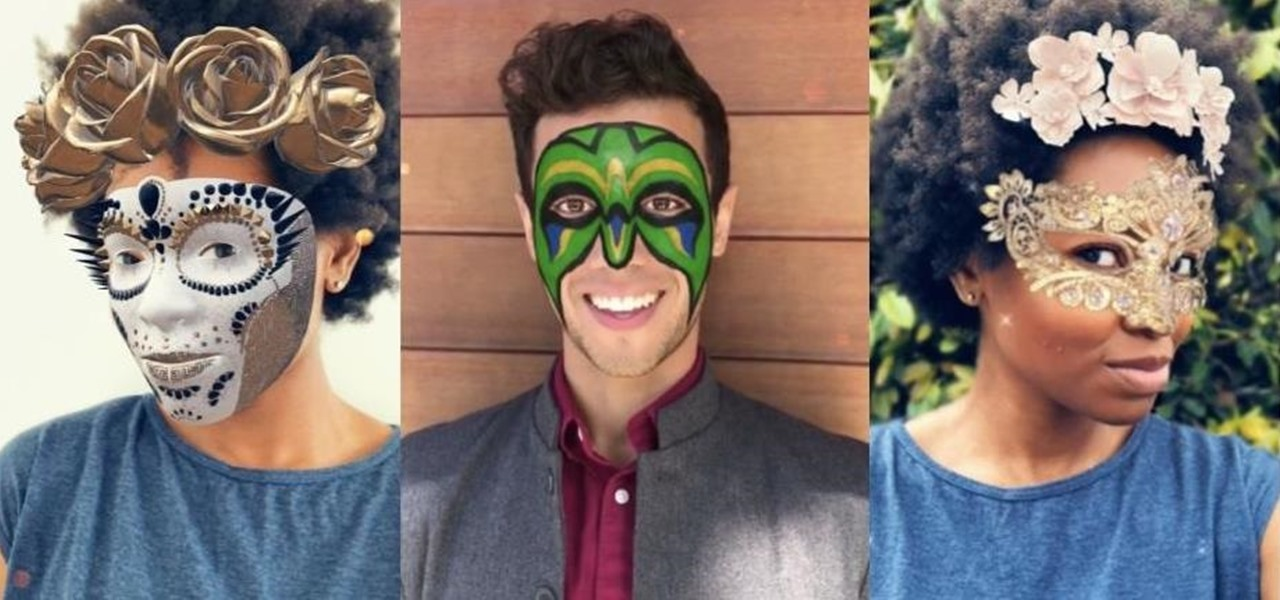 Apple iPhone X Owners Get a Trio of Super-Realistic Snapchat Lenses Aided by the TrueDepth Camera