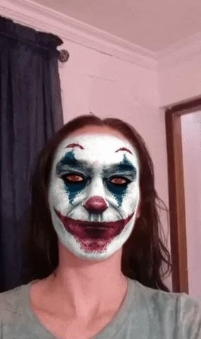 This Facebook AR Filter Lets You Become the Joker Just in Time for Halloween