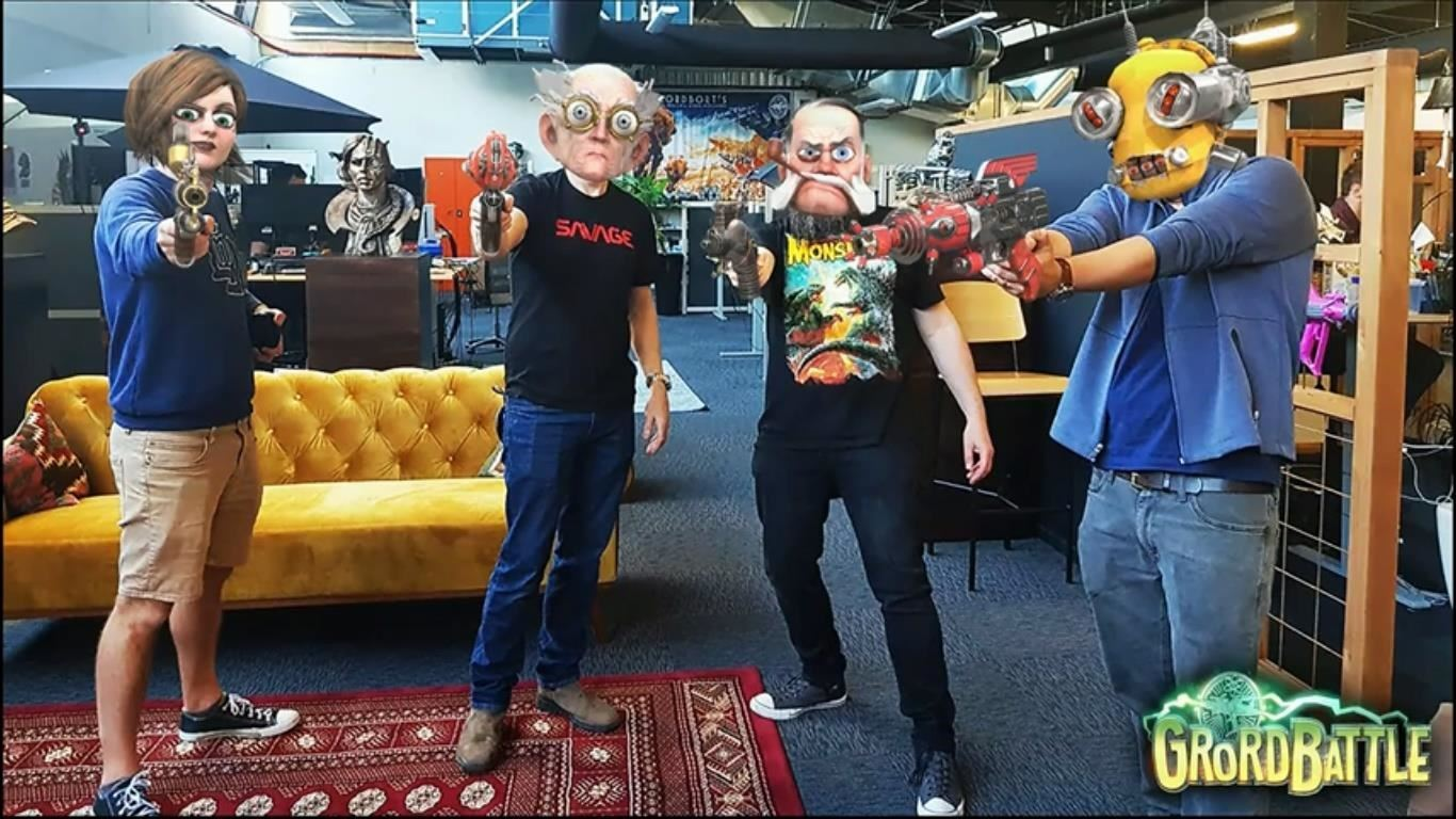 Magic Leap & Weta Workshop Preview Multiplayer Mode for Dr. Grordbort's Invaders at GDC