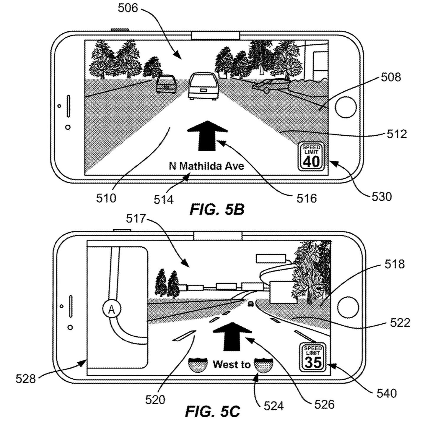 Apple's Latest Patent Proposes Augmented Reality Navigation for Cars via Mobile Device