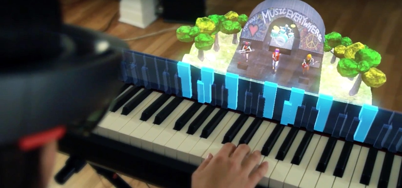 Music Everywhere Uses HoloLens to Help Piano Students with Improvisation