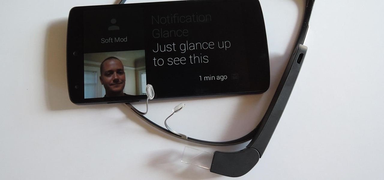 Use Notification Glance on Google Glass