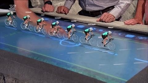 Augmented Reality Pedals Its Way into Tour de France TV Coverage