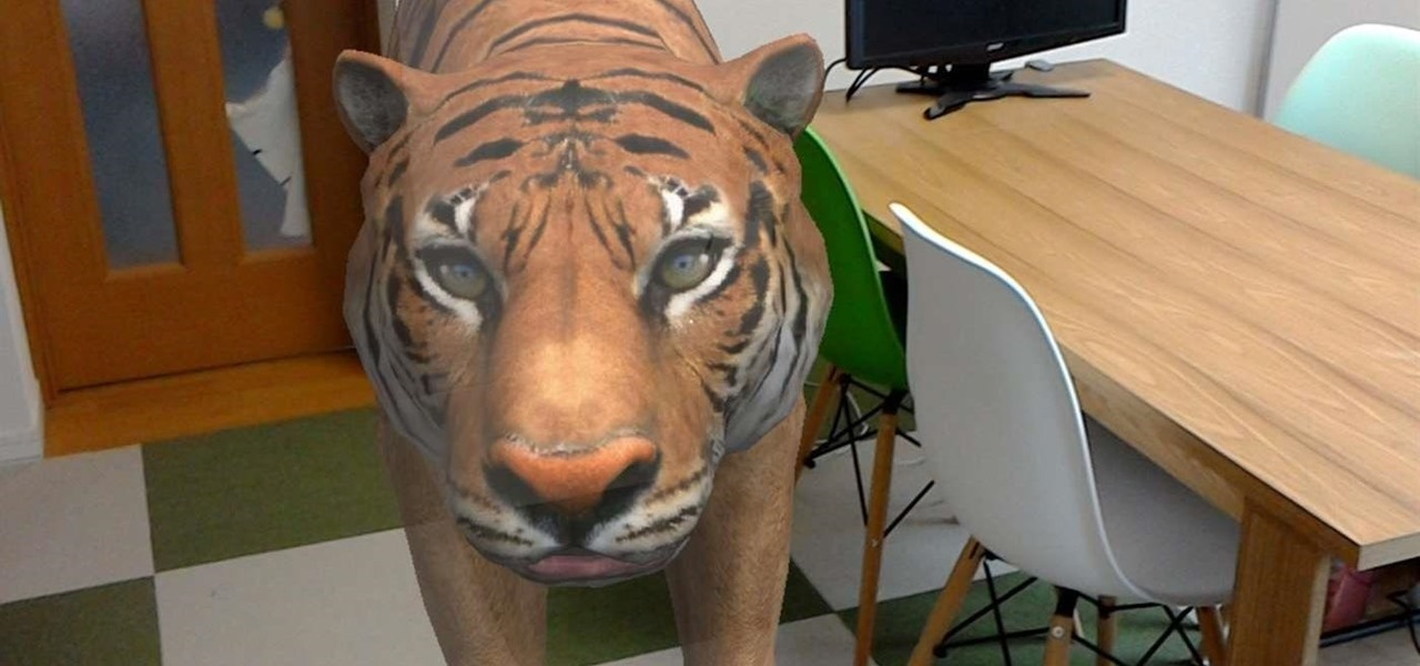 This HoloLens App Brings Animals into Your Home Without Violating Your Lease