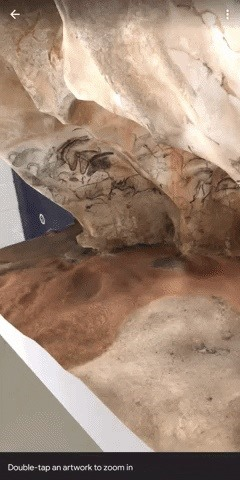 Google Grants Augmented Reality Access to Historic Art of Chauvet Cave via Arts & Culture App & Google Search