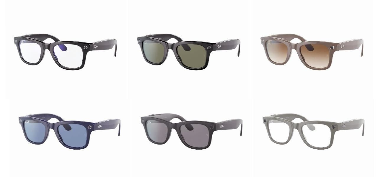 Facebook & Ray-Ban Stories Smartglasses, Details on the Specs, Colors, Prices, Software, and Availability