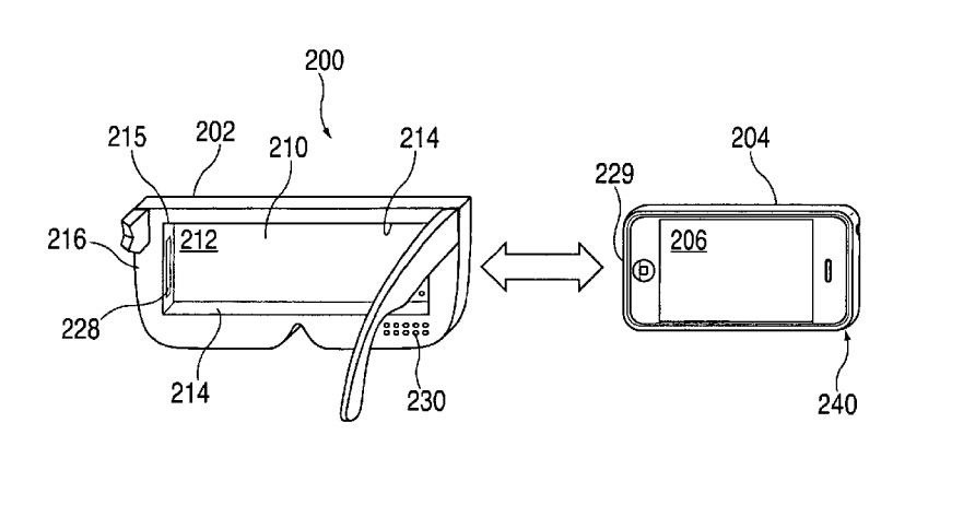 Apple Just Patented This Silly Sunglasses-Lookin' VR Headset for the iPhone