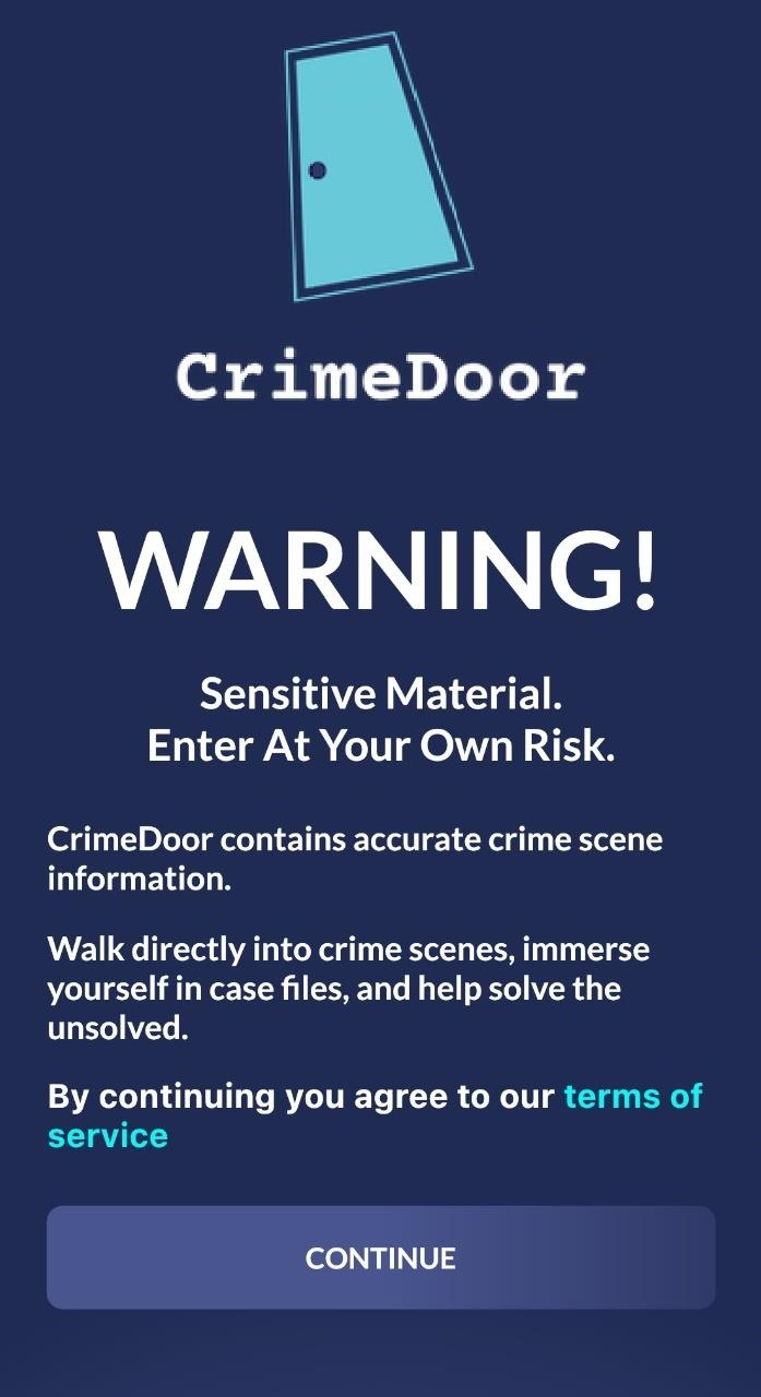 True Crime Reality TV Comes to Augmented Reality for Apple iPhone via CrimeDoor