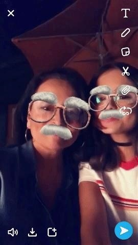 Snapchat Highlights Augmented Reality Feature in New Group Video Chat