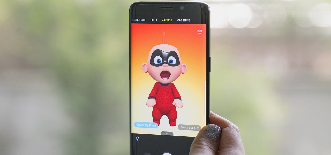 Samsung's AR Emoji Gets Super with Addition of Pixar's 'The