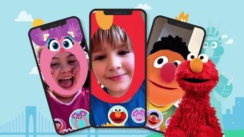 Apple iOS-Powered Sesame Street Yourself App Turns Kids into Their Favorite Characters via ARKit 3's New Features