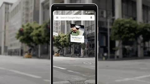 Google Working on AR Walking Navigation Mode for Maps