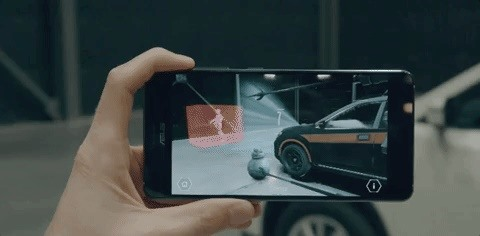 Here's Your First Look at the Star Wars AR Experience Being Shown Off at Nissan Showrooms