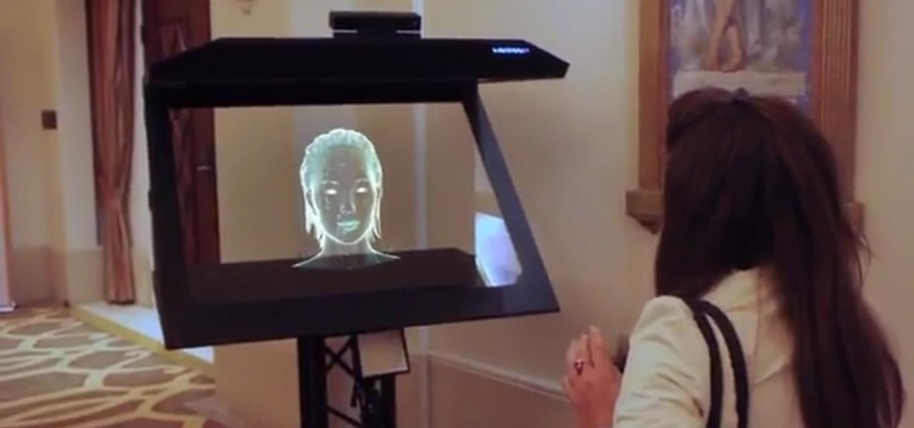 This Creepy Holographic AI Concierge Could Be Following You Around Hotels Soon