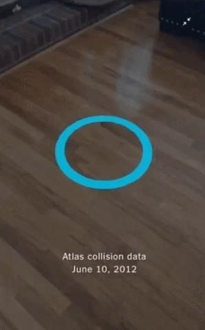 New York Times App Lets You See a Higgs Particle Reaction from the Large Hadron Collider in Augmented Reality