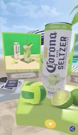 Corona taps Blippar to promote its Hard Seltzer line with AR Games & Recipes