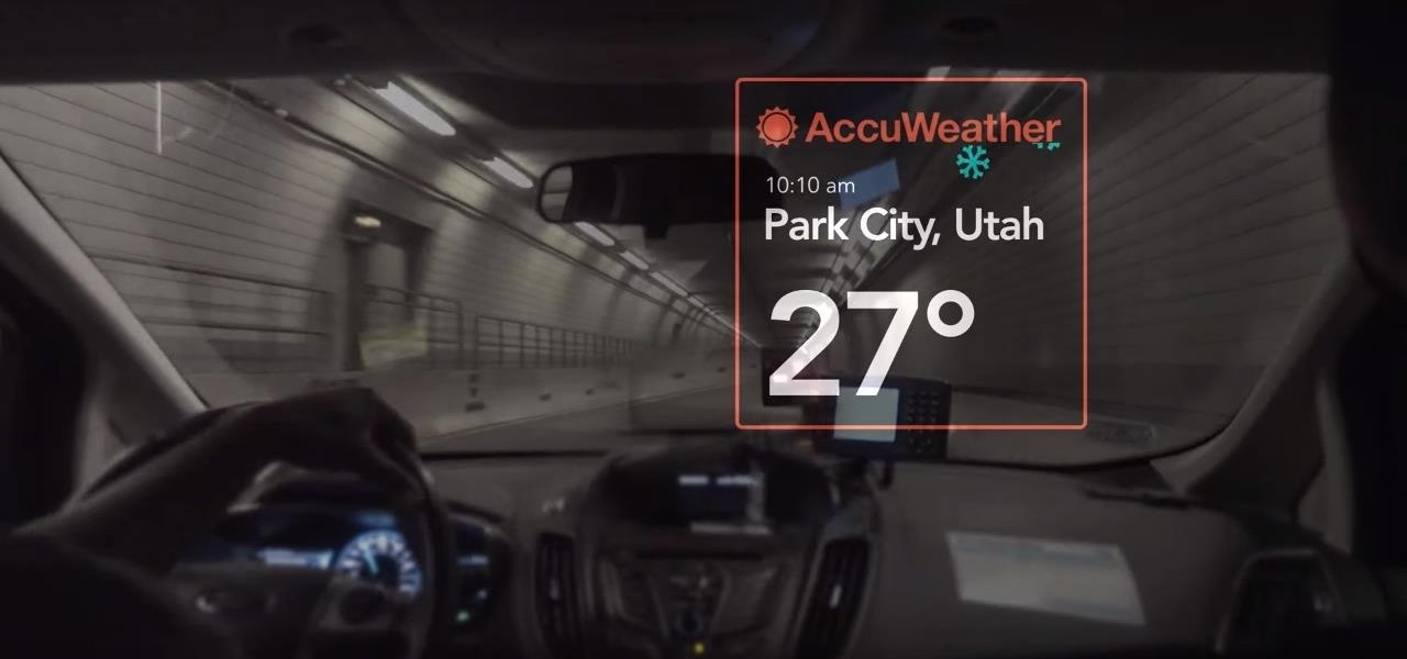 Vuzix Blade Smartglasses Will Tell if Weather Outside Is Frightful with AccuWeather App