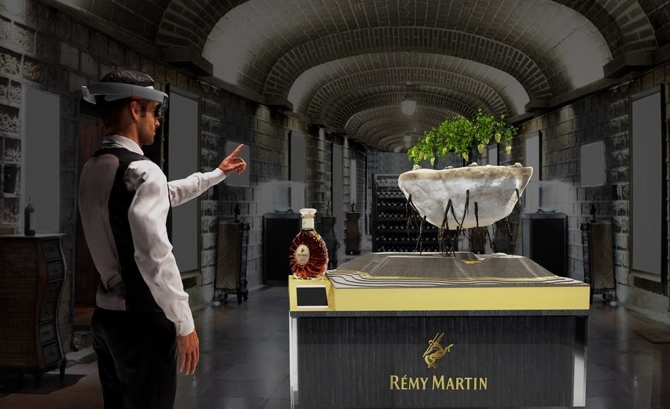 Use of HoloLens Brings Rémy Martin's Story to Life