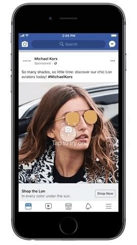 Facebook Brings Augmented Reality Ads to Its News Feed