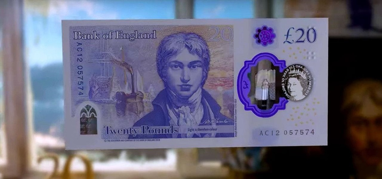 Bank of England Teams with Snapchat to Embed AR Animation in New 20-Pound Banknotes