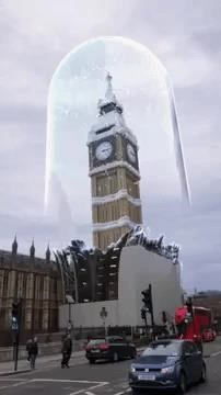 Snapchat Virtually Restores the Big Ben in London with a holiday-themed AR lens