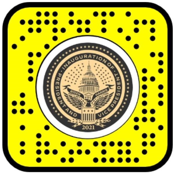 Snapchat Presidential Inauguration Lens Lets You Be in the Crowd at Joe Biden's Historic Event